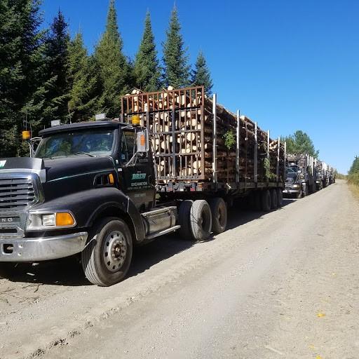 log trucks